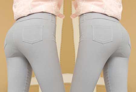 Stretch tregging | Comfortabele & elastische broek Grijs