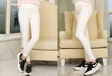 Stretch tregging | Comfortabele & elastische broek Wit