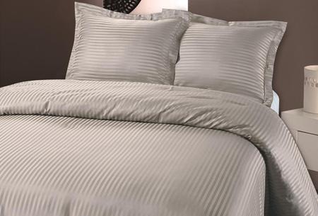 Luxe dekbedovertrek van hotelkwaliteit   Een aanwinst voor elke slaapkamer grijs