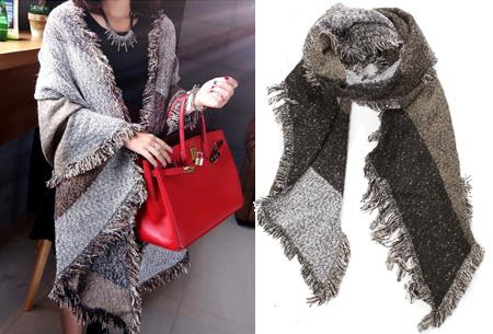 Lammy sjaal | Warme omslagdoek van topkwaliteit Bruin