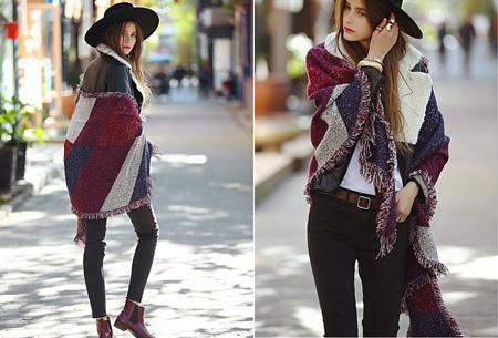 Lammy sjaal | Warme omslagdoek van topkwaliteit