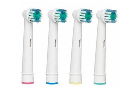 8-pack opzetborstels voor Oral-B elektrische tandenborstels