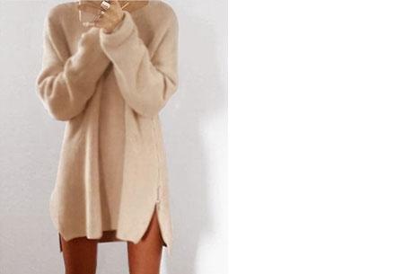 Knitted zipper trui   Een echte wannahave trui! Beige