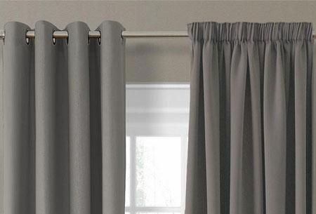 Luxe verduisterende gordijnen kant en klaar 150 x 250 cm for Verduisterende gordijnen kant en klaar