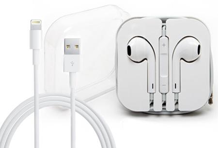 Originele Apple oordopjes en/of kabels