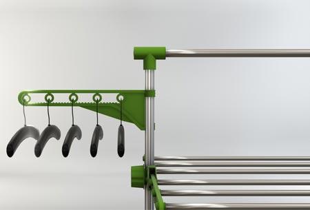 Multifunctioneel droogrek | Staand wasrek met ruimte voor al je wasgoed