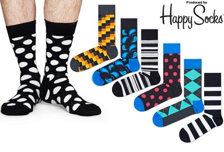 Happy Socks nieuwe lijn Socks Mania | Keuze uit 6 of 12 paar sokken
