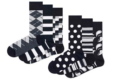 Happy Socks nieuwe lijn Socks Mania | Keuze uit 6 of 12 paar sokken Pack 2