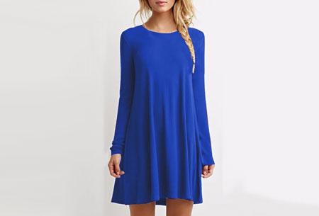 Sophisticated tuniek | Stijlvol, chique en vrouwelijk! Blauw