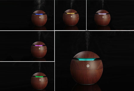 Woodlook aroma geurverspreider en luchtbevochtiger | Met of zonder geurolie