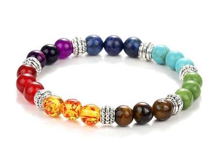 Chakra armbanden | Krijg nieuwe energie en kom in balans Multicolor