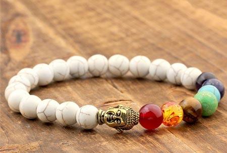 Chakra armbanden | Krijg nieuwe energie en kom in balans Wit