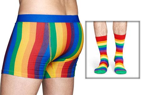 Happy Socks box | Mega uitverkoop OP=OP! Regenboog