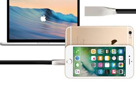 'Onbreekbare' oplaadkabel | Ultra sterke kabel voor Lightning of Micro USB
