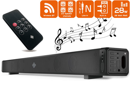 Dutch Originals Bluetooth Soundbar Speaker