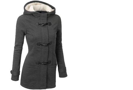 Cozy cardigan | Comfortabel en heerlijk warm vest nu in de sale! Donkergrijs