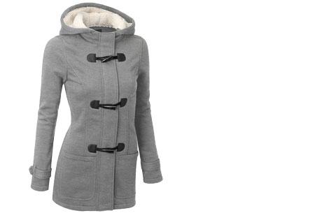 Cozy cardigan | Comfortabel en heerlijk warm vest nu in de sale! Lichtgrijs