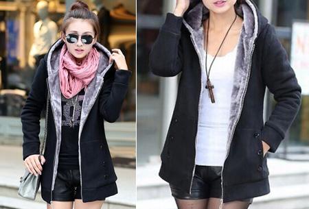Vest met fleece binnenvoering | Heerlijk warm de winter door!  Zwart