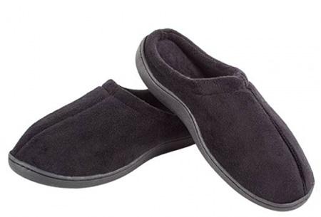 Relax gel slippers | Met speciale schokabsorberende gelzolen voor ultiem comfort zwart