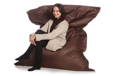 Drop & Sit suede look zitzak - exclusieve wintereditie | Ultiem relaxen!