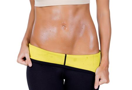 Saunafit driekwart sportlegging | Thermische afslankbroek voor buik, billen en benen!