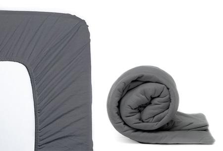 Molton hoeslaken en/of duopack Jersey hoeslakens | Topkwaliteit voor een spotprijs! Antraciet