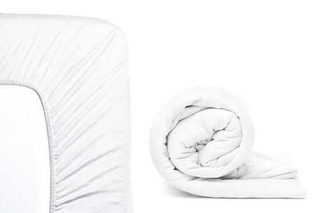 Molton hoeslaken en/of duopack Jersey hoeslakens | Topkwaliteit voor een spotprijs! Wit
