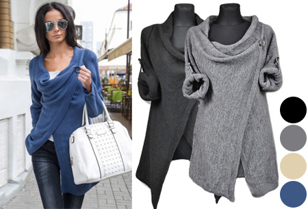 Knitted overslagvest | Trendy & comfortabel!