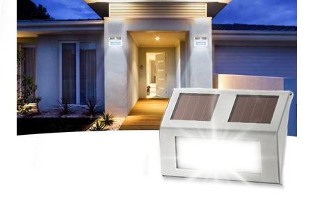 Solar LED buitenlampen