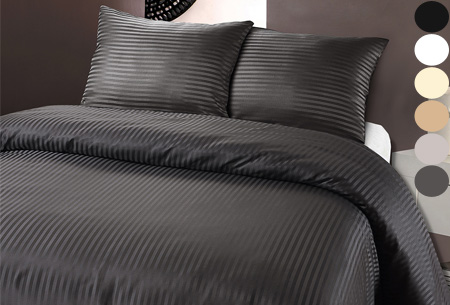 Luxe dekbedovertrek van hotelkwaliteit | Een aanwinst voor elke slaapkamer