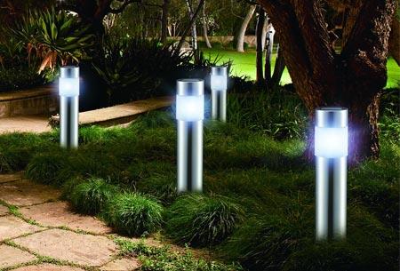 LED Lovers solar tuinlampen set van 4 stuks