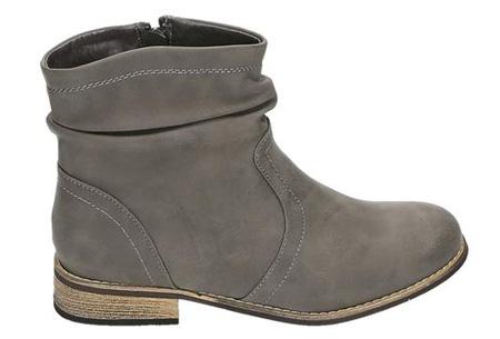 Licht Grijze Enkellaarsjes : Mega uitverkoop enkellaarsjes laarsjes en overknee laarzen
