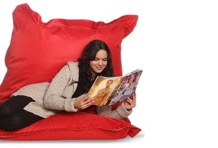 Drop & Sit zitzak | Keuze uit 18 kleuren & 2 formaten - nu extra voordelig! Rood