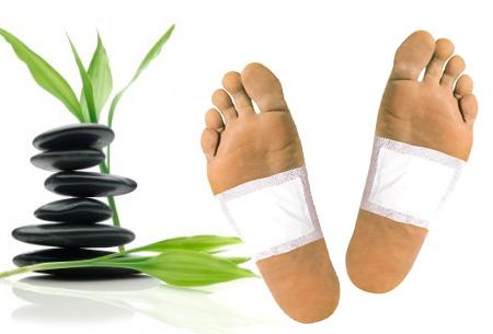 Kinoki detox voetpleisters 10 stuks | Ontgiften terwijl je slaapt