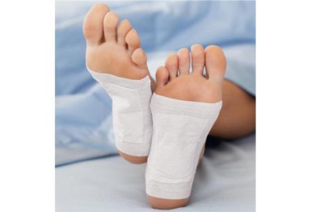 Kinoki detox voetpleisters 10 stuks   Ontgiften terwijl je slaapt