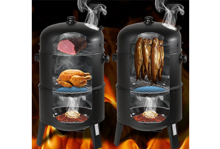 4 seizoenen BBQ Smoker | Barbecueën, grillen en roken