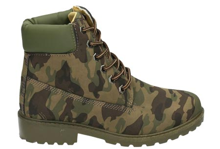 Adventurous boots | Stoere & stijlvolle enkellaarsjes Camouflage