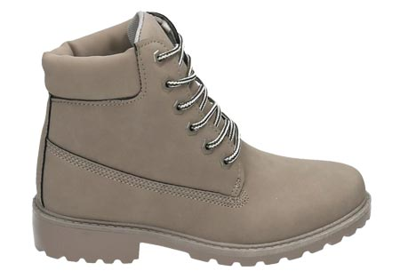 Adventurous boots | Stoere & stijlvolle enkellaarsjes Grijs