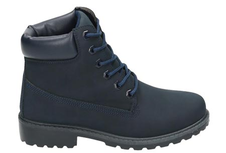 Adventurous boots | Stoere & stijlvolle enkellaarsjes Navy