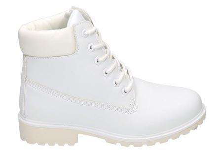 Adventurous boots | Stoere & stijlvolle enkellaarsjes Wit