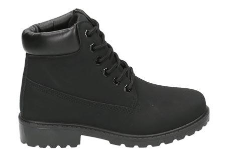 Adventurous boots | Stoere & stijlvolle enkellaarsjes Zwart