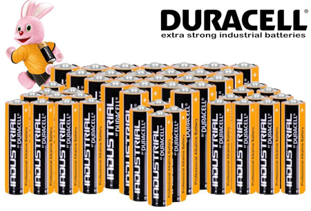 Duracell Industrial batterijen 72-pack