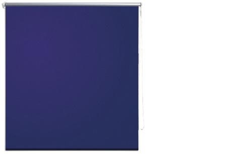 Verduisterend rolgordijn | Keuze uit verschillende kleuren & maten Marine