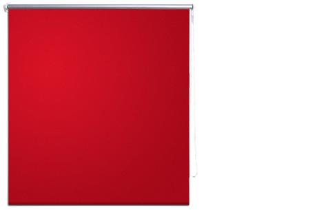Verduisterend rolgordijn | Keuze uit verschillende kleuren & maten Rood