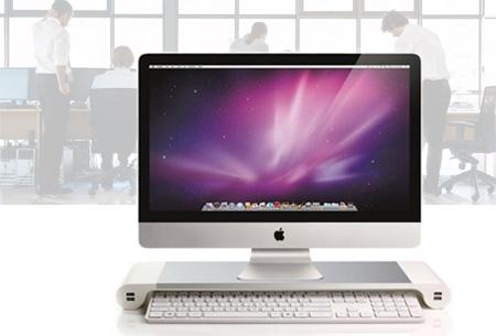 Desktoptafel met 4 USB poorten