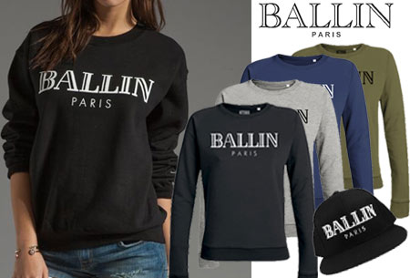 BALLIN Paris dames sweater