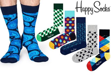 3-pack surprise box van Happy Socks