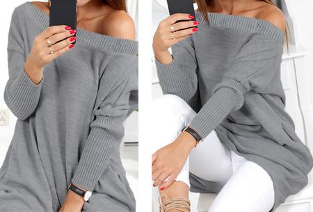 Gorgeous sweater dress | Deze beauty mag niet ontbreken in jouw garderobe! Grijs