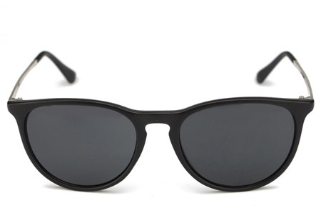 Vintage Look zonnebril Mat zwart
