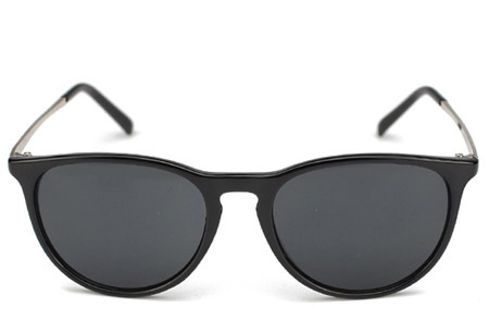 Vintage Look zonnebril Zwart